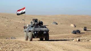 المدفعية العراقية تبدأ قصف داعش في مطار الموصل