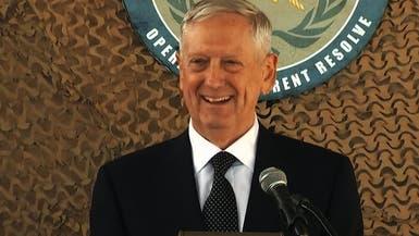 وزير الدفاع الأميركي: سنبقى لفترة بالعراق لمساعدة الجيش