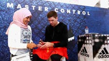 Steven Gerrard in Dubai on promotion tour