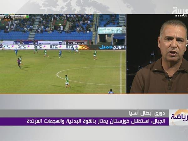"""فتحي الجبال لـ""""العربية"""": هدفنا تفادي الهبوط"""