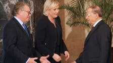 Le Pen supports Assad, downplays nationality reform plans in Lebanon