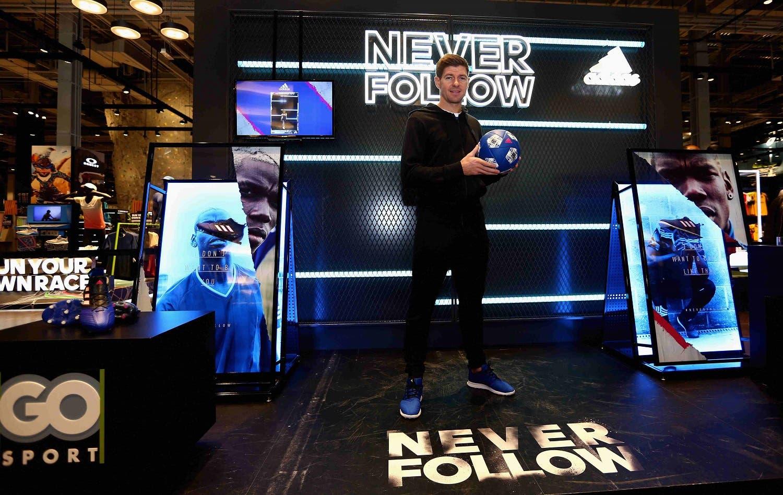 Steven Gerrard. (courtesy of Adidas)