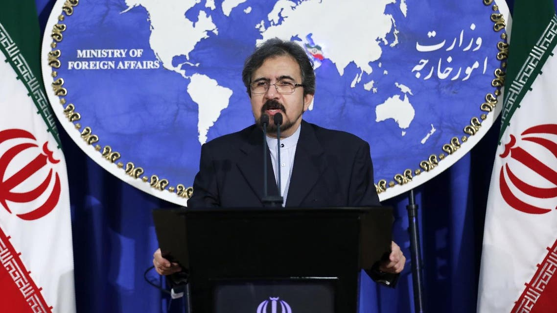 ranian foreign ministry spokesman, Bahram Ghasemi speaks during a press conference on August 22, 2016 in Tehran. (AFP)