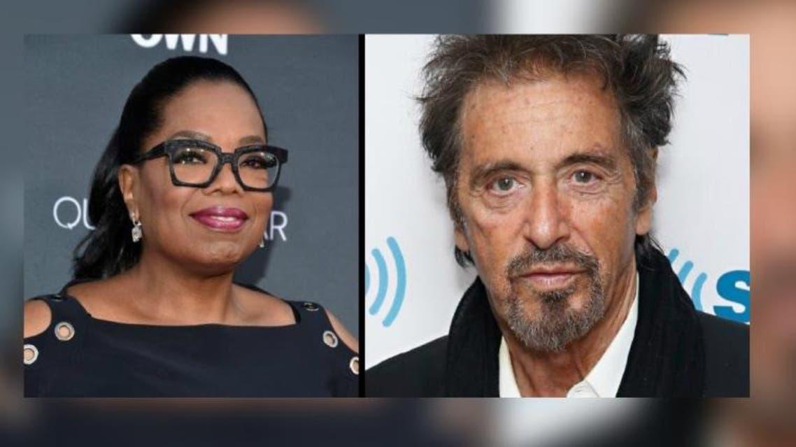 Al Pacino and Oprah Winfrey