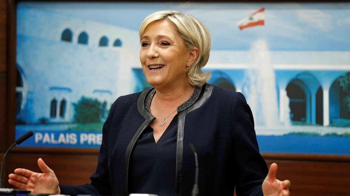 """""""You can pass on my respects to the Grand Mufti, but I will not cover myself up,"""" Le Pen told reporters. (File photo: Reuters)"""