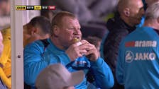 Pie-eating football player faces double inquiry