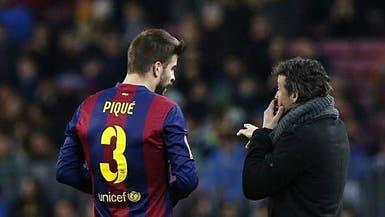 بيكيه: لويس إنريكي أنقذ برشلونة من حال مزرِ