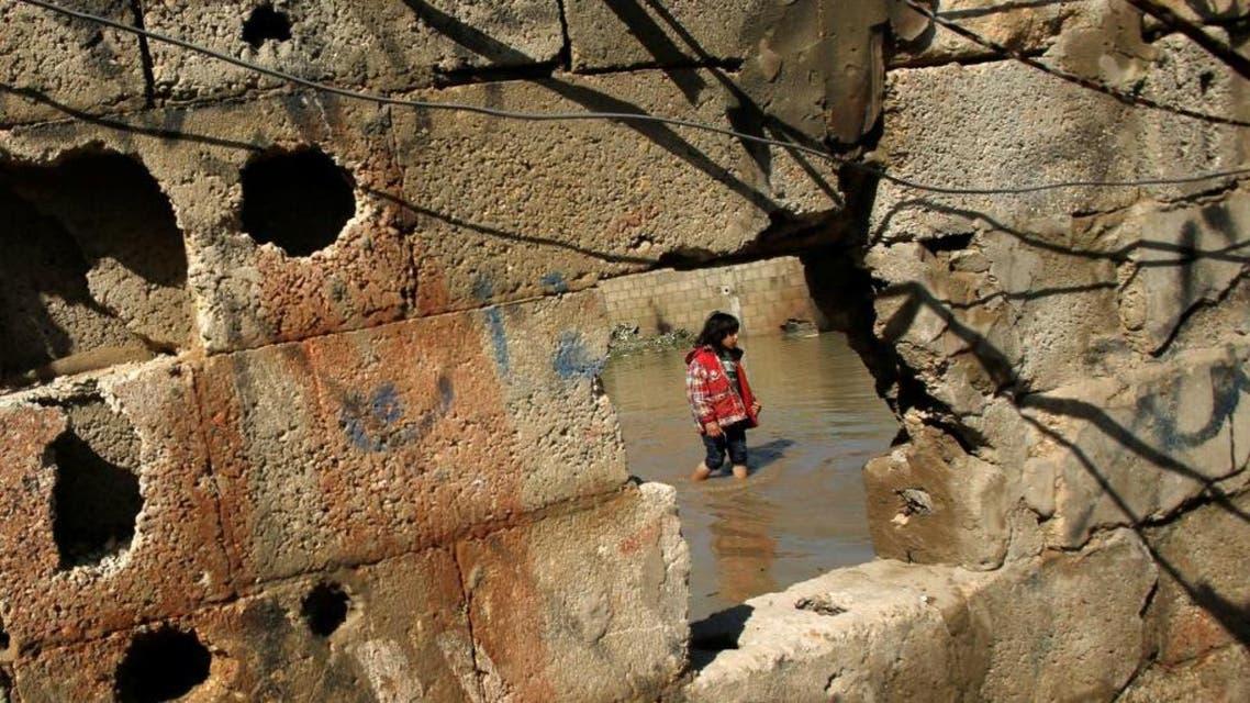Flooding in Gaza