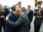 لقاء سابق بين الملك عبدالله والرئيس السيسي