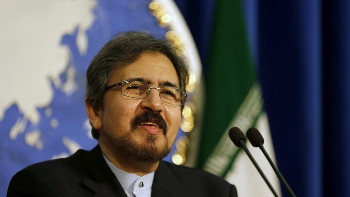 Iranian foreign ministry spokesman. (AFP)