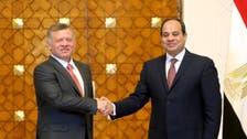 السيسي في الأردن اليوم لبحث العلاقات الثنائية