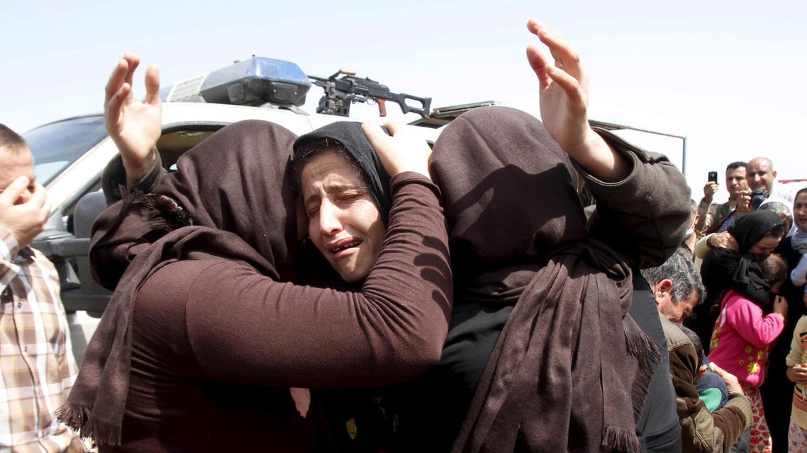 """The initiative follows Parliament's resolution last fall to take in Yazidis facing """"genocide"""" in Iraq at the hands of ISIS. (Reuters)"""