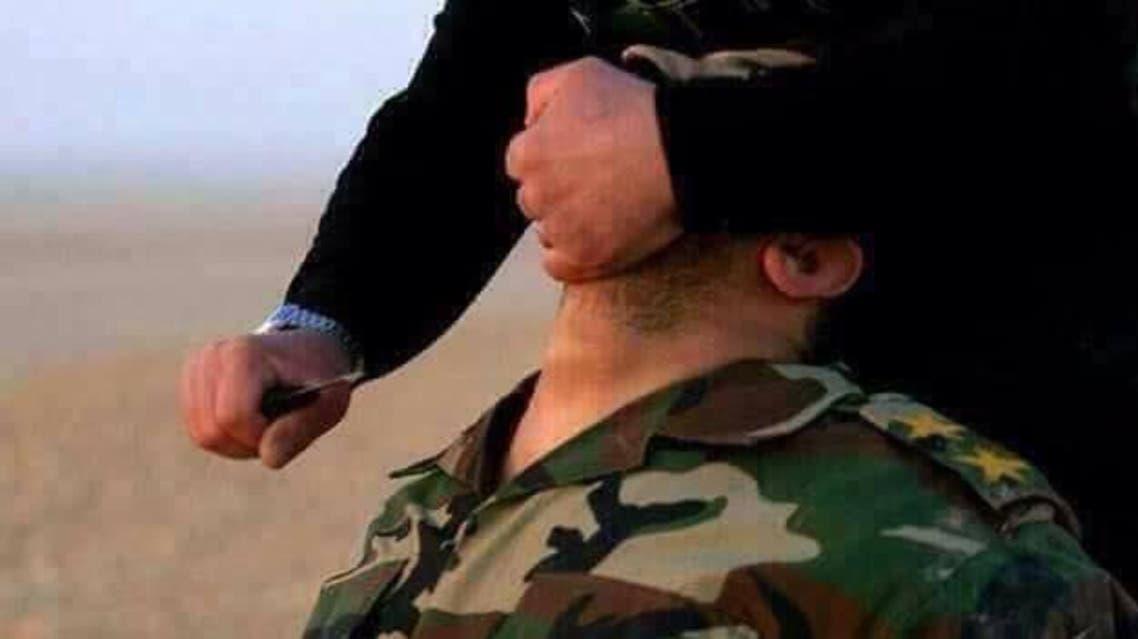 ذبح ضابط عراقي