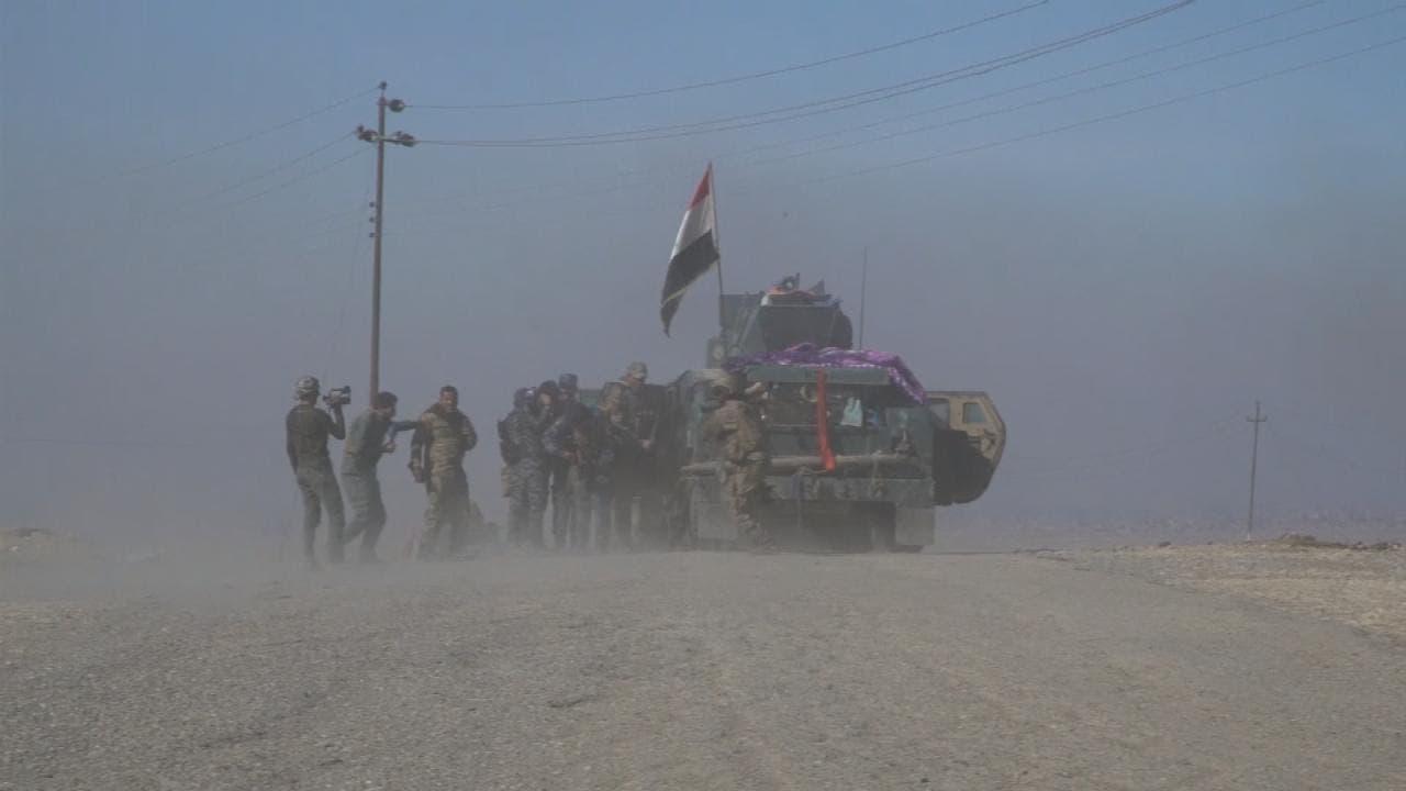 عملیات آزاد سازی پادگان الغزلانی از تصرف شبهنظامیان داعش