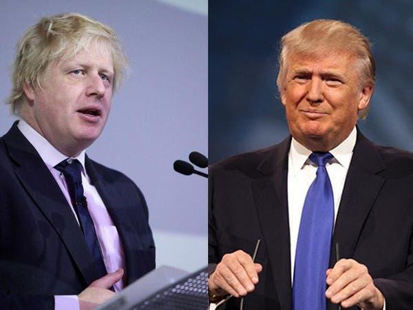 """ترمب وجونسون..تحالف قد يبلور اتفاقا تجاريا بعد """"بريكست"""""""
