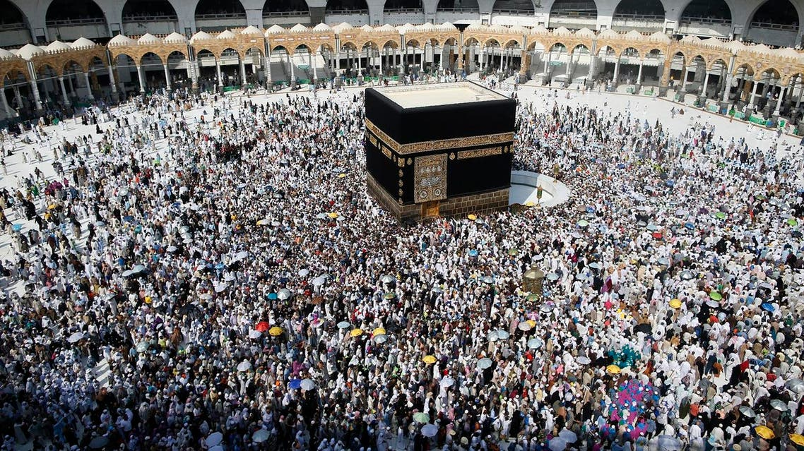 There was no official Iranian delegation at last year's pilgrimage to Islam's holiest sites in Saudi Arabia. (AFP)