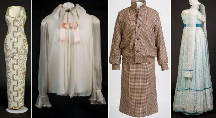 بعض الملابس المعروضة بدءا من اليوم الجمعة وطوال العام الجاري