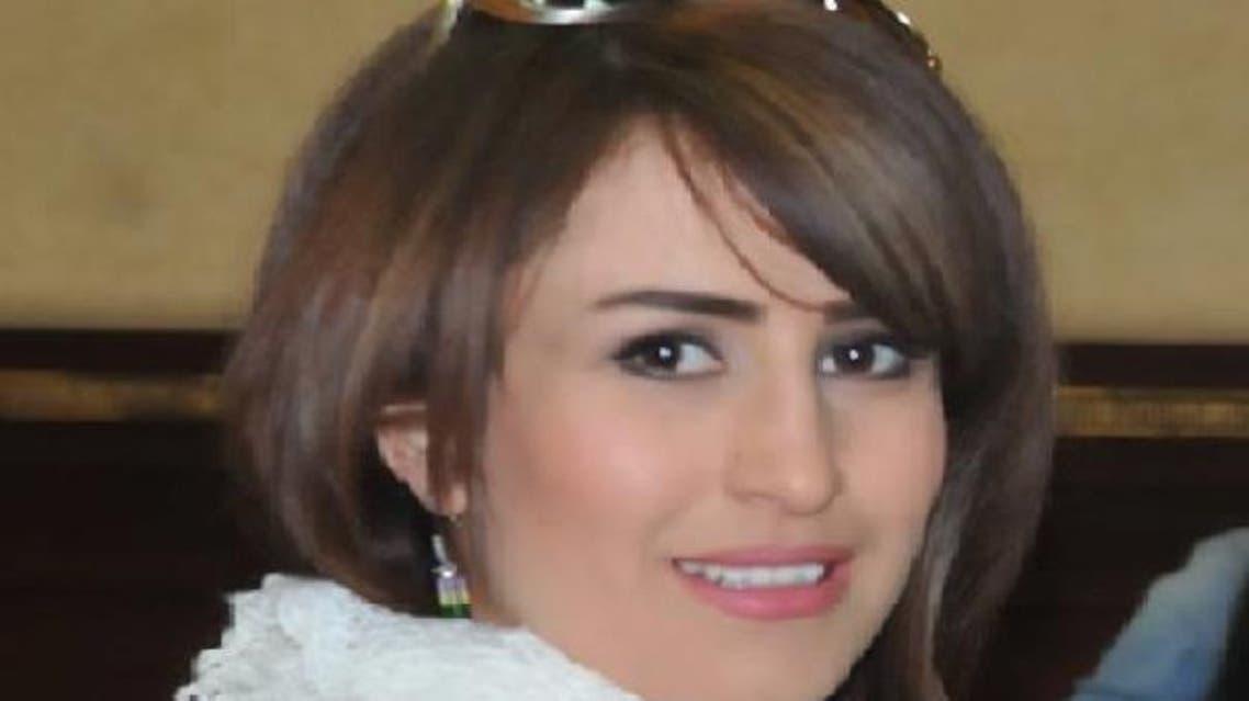 الصحفية الكردية