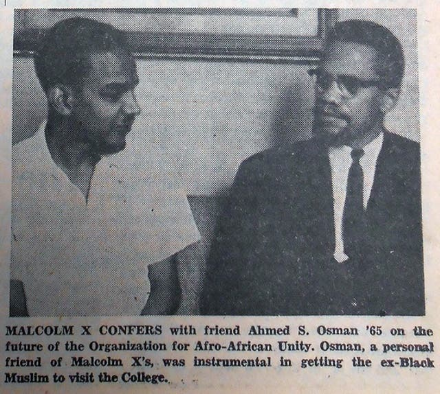 malcom x learning to read