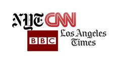 اہم نشریاتی ادارے ٹرمپ کی میڈیا بریفنگ سے بیدخل کر دیئے گئے