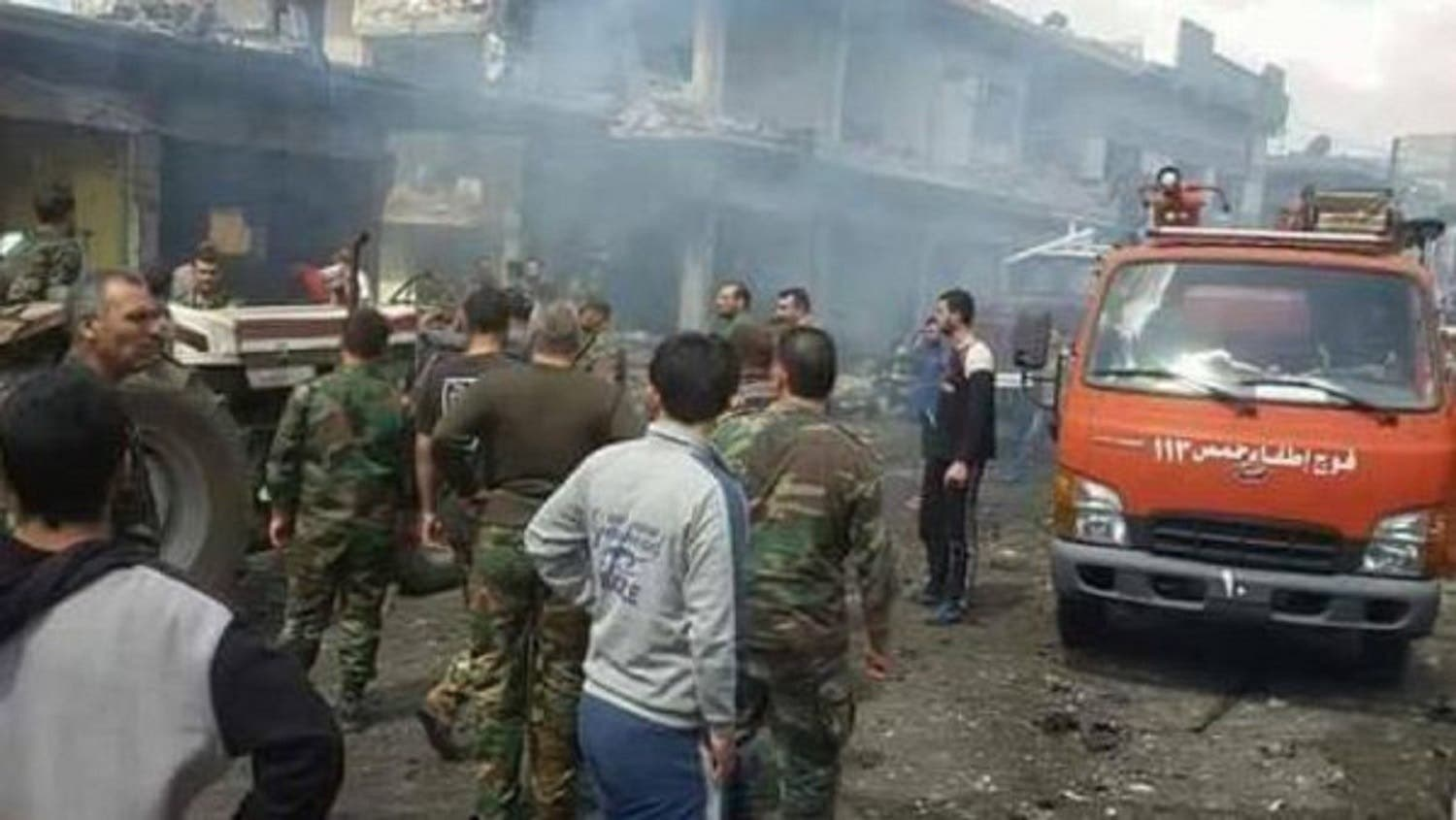 Attacks in Homs. (Supplied)