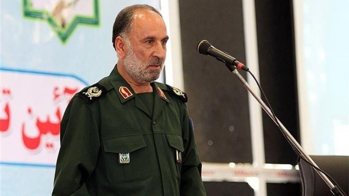 قائد الحرس الثوري الايراني في محافظة قم العميد غلام رضا أحمدي