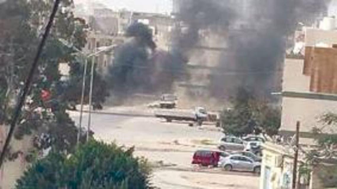 حرب شوارع في طرابلس ليبيا