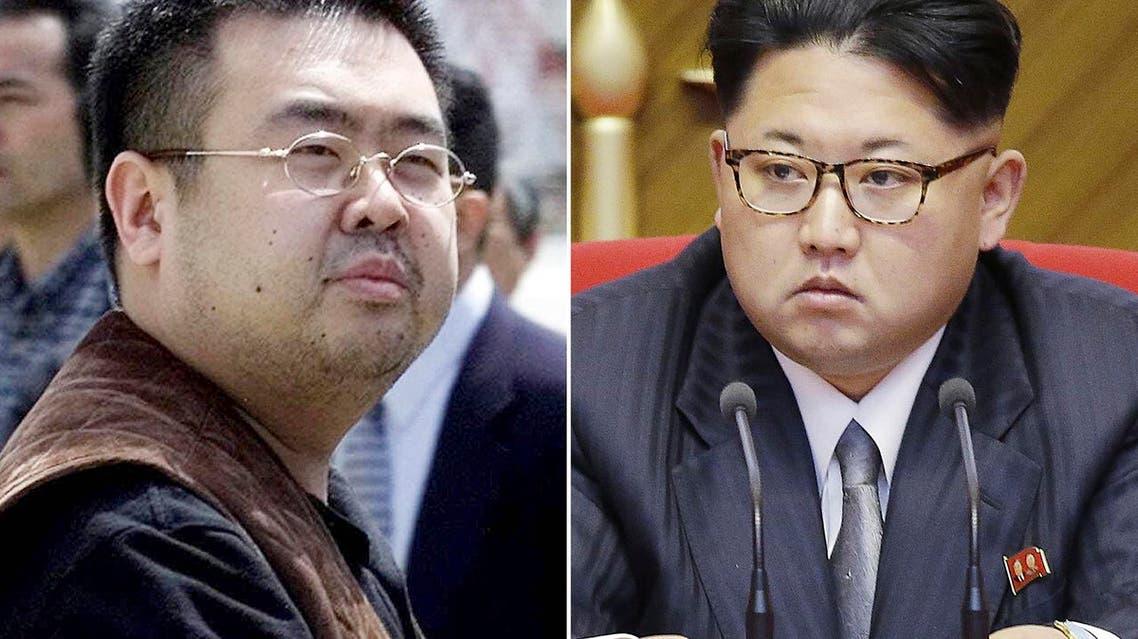 This combination of file photos shows Kim Jong Nam, left, exiled half-brother of North Korea's leader Kim Jong Un, in Narita (File Photos: AP/Shizuo Kambayashi, Wong Maye-E)