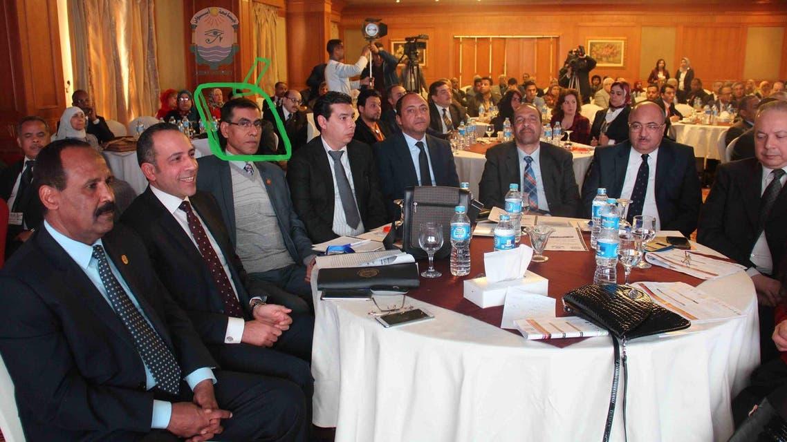 مستشار السيسي خلال إحدى المناسبات الرسمية - رئيسية