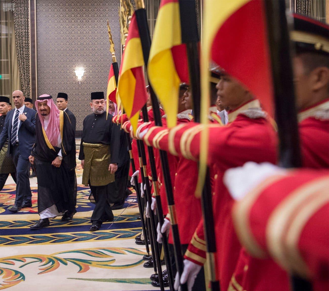 Saudi King Salman in Malaysia: We stand fully behind Islamic causes