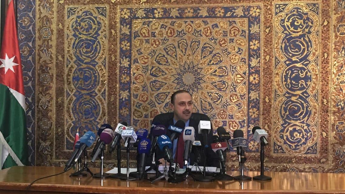 وزير الإعلام والناطق باسم الحكومة الأردنية  محمد المومني