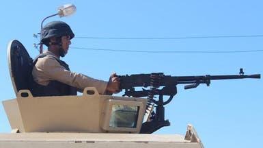 الجيش المصري يقتل 3 إرهابيين في سيناء