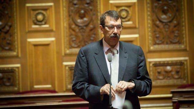 النائب الاشتراكي جيلبير روجيه رئيس مجموعة الصداقة الفرنسية الفلسطينية