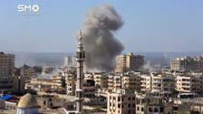Syria accuses coalition of missile strikes on its army positions