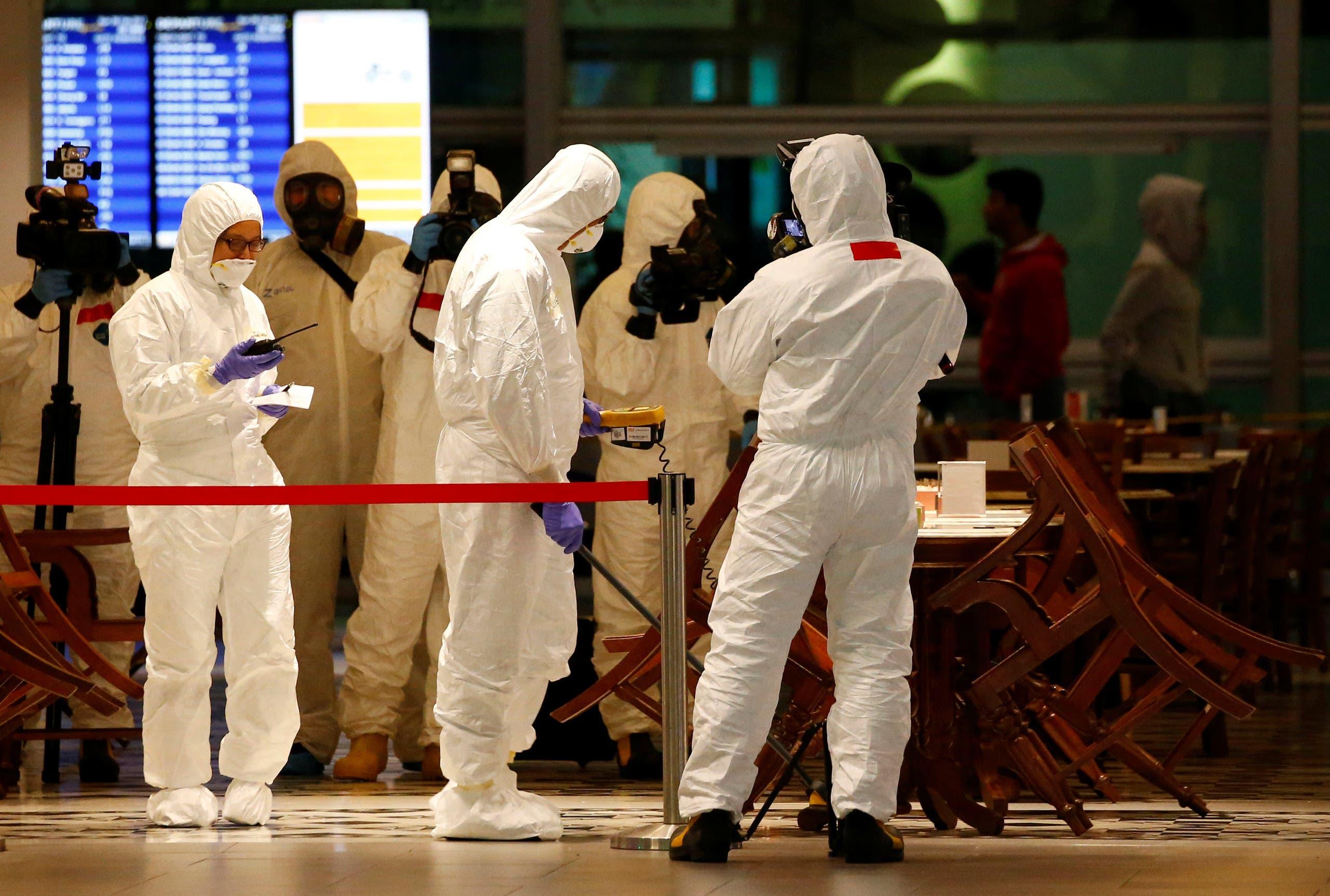 المطار آمن تماما ولا توجد مواد خطيرة — الحكومة الماليزية