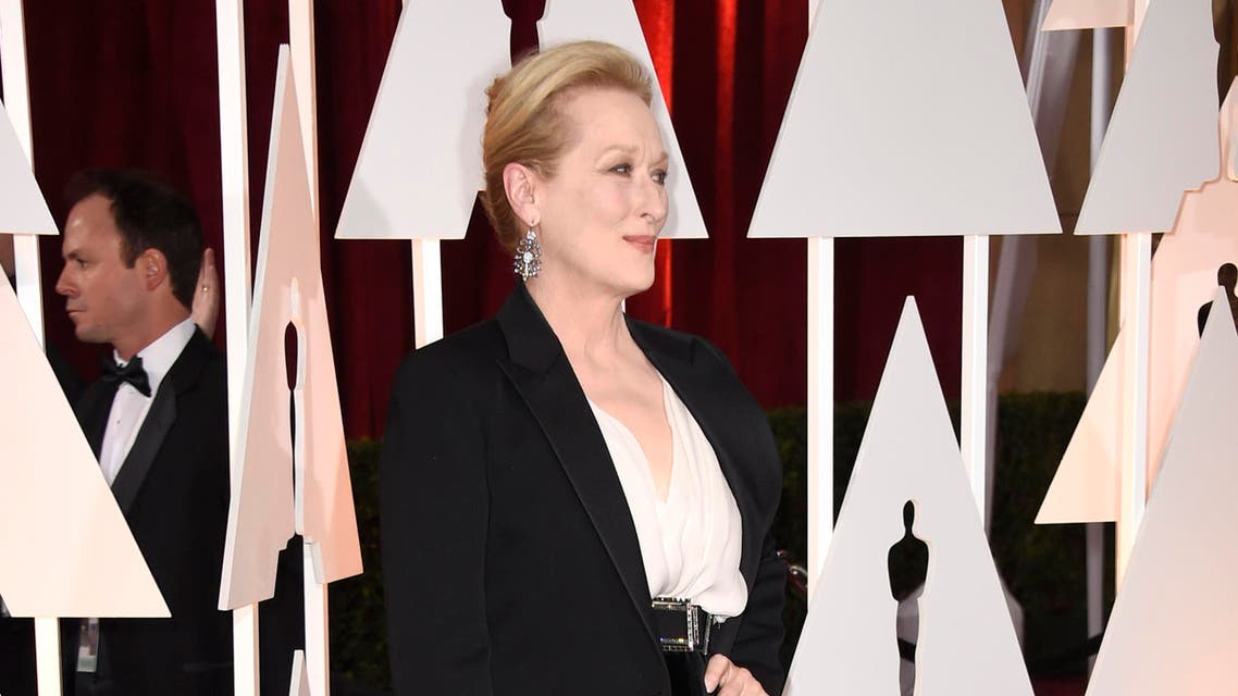 Actress Meryl Streep attends the 87th Annual 2015