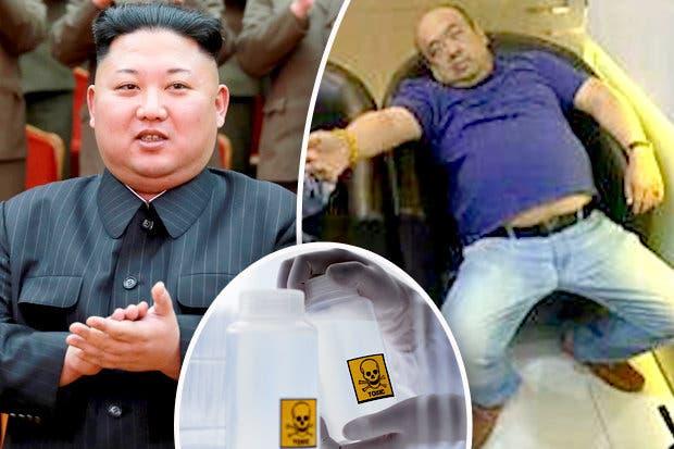 دكتاتور كوريا الشمالية (يسار) وأخوه أثناء احتضاره (يمين)