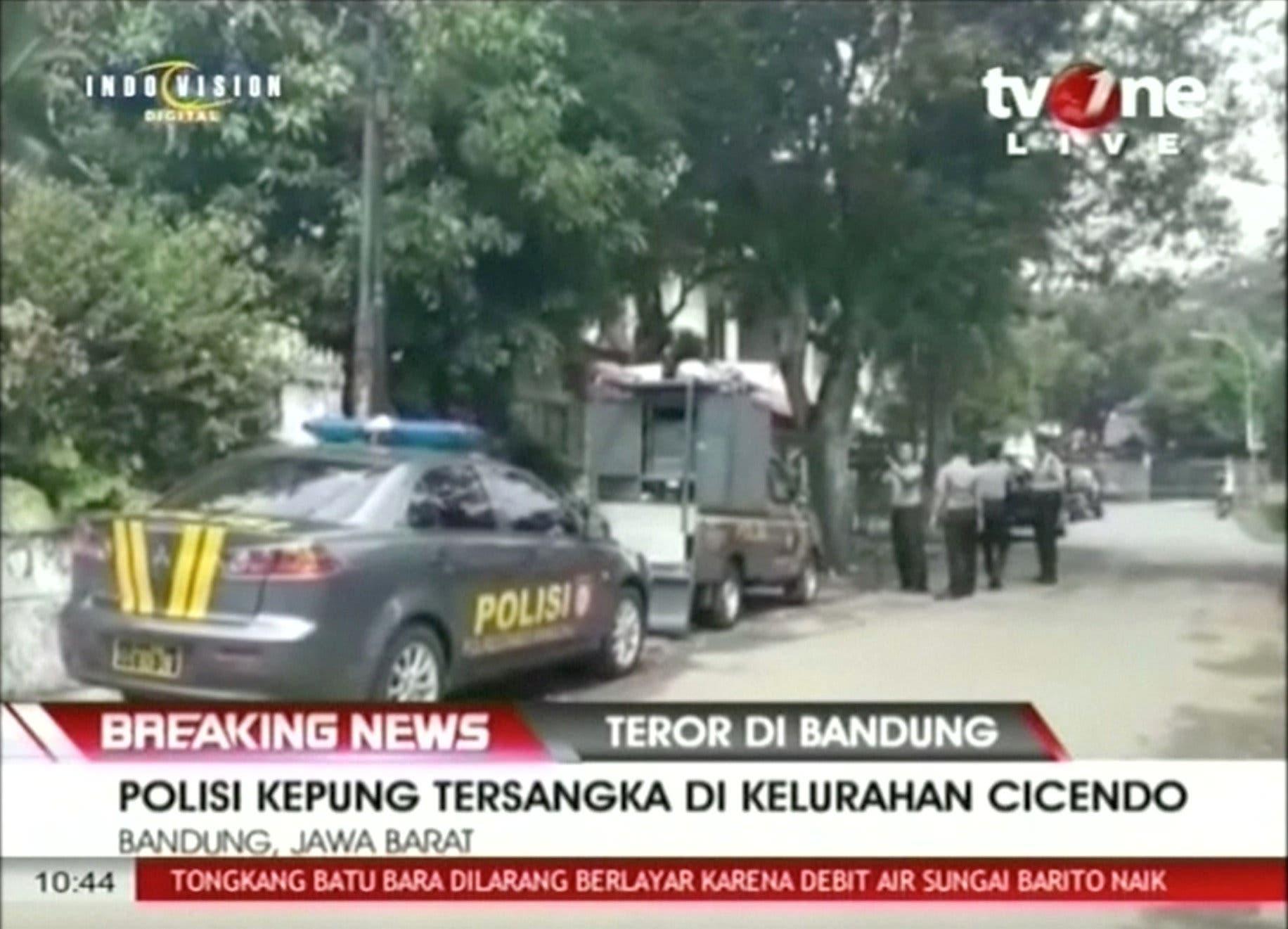 لقطة من فيديو من مكان الحادث