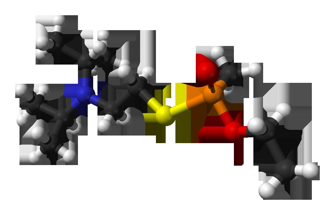 التركيبة الكيمياوية لغاز VX
