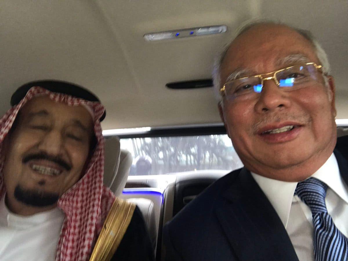 saudi king salman selfie