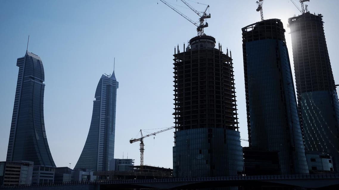 A general view shows the Bahrain Financial Harbour building in the capital Manama, on February 10, 2016. (AFP)