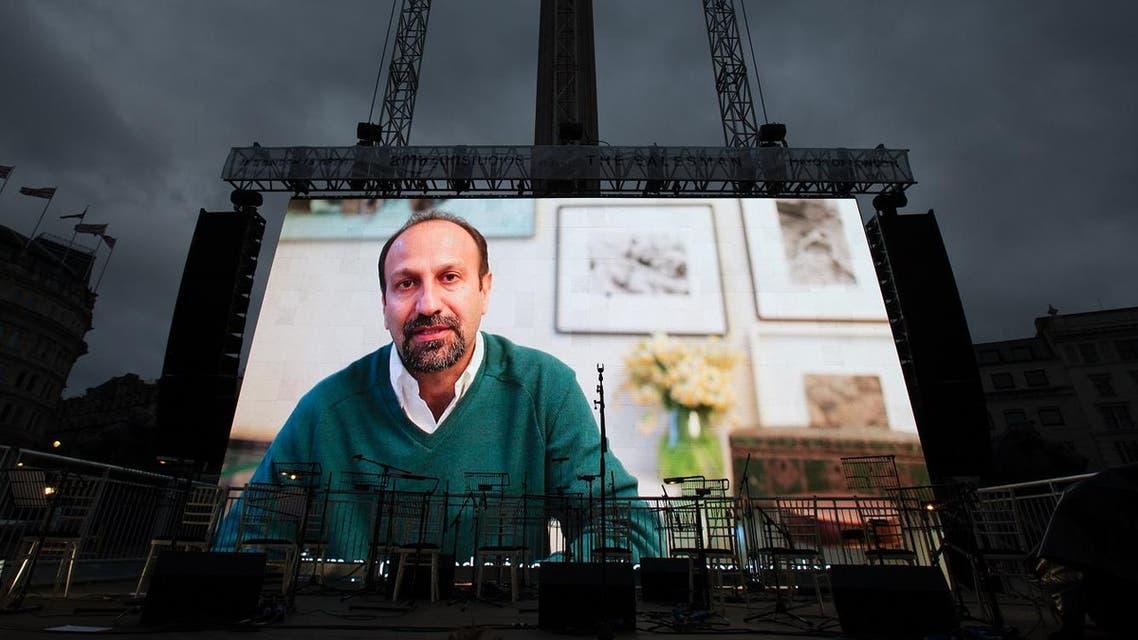 Farhadi Iranian director. (AFP)