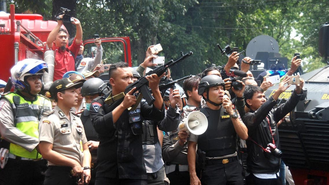 Indonesian police (AFP)