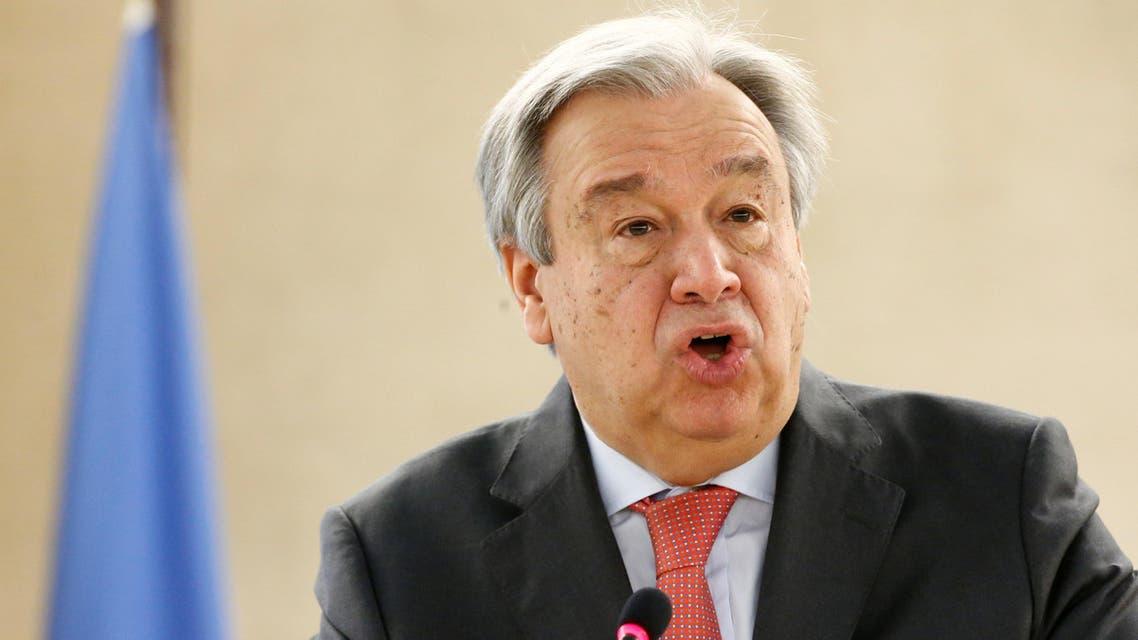 أمين عام الأمم المتحدة أنتونيو غوتيريس 3