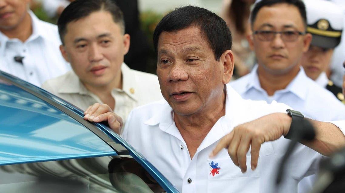 Philippine President Rodrigo Duterte (C) (File Photo: Ace Morandante/PPD/AFP)