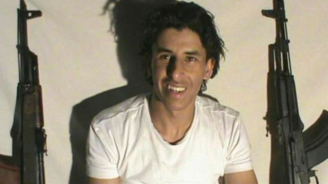 This image taken from a militant website associated with ISIS extremists shows Tunisian gunman Seifeddine Rezgui who killed 38 people including 30 Britons in the Tunisian beach resort of Sousse (Militant photo via AP)