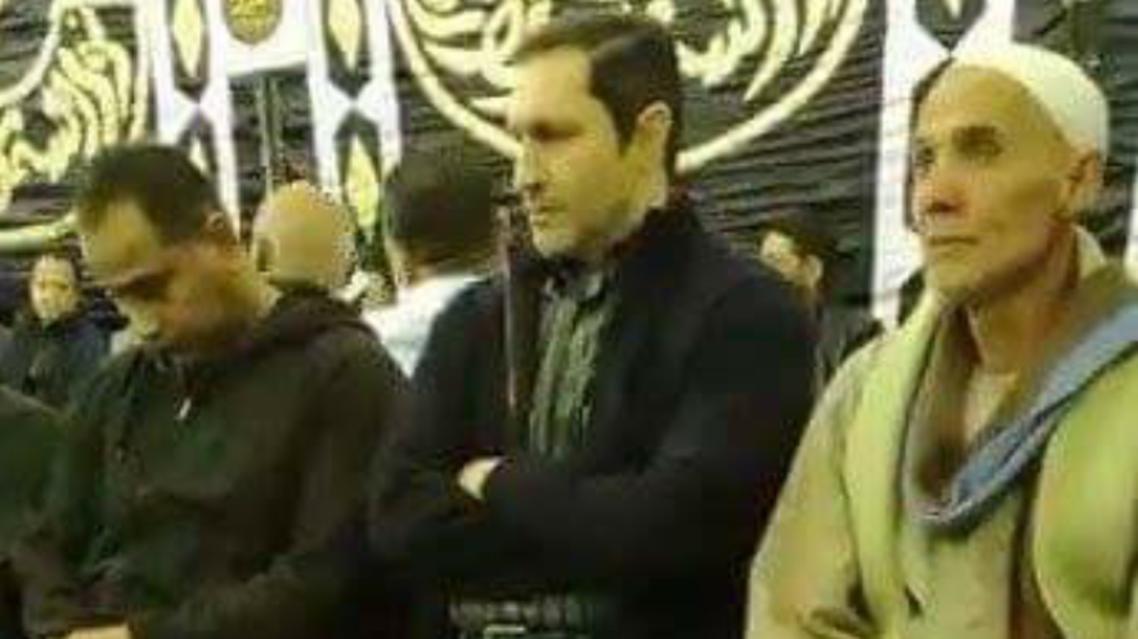 علاء وجمال في عزاء والد محمد أبوتريكة