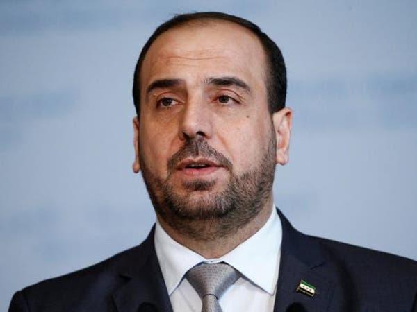 نصر الحريري رئيساً لوفد المعارضة السورية في جنيف