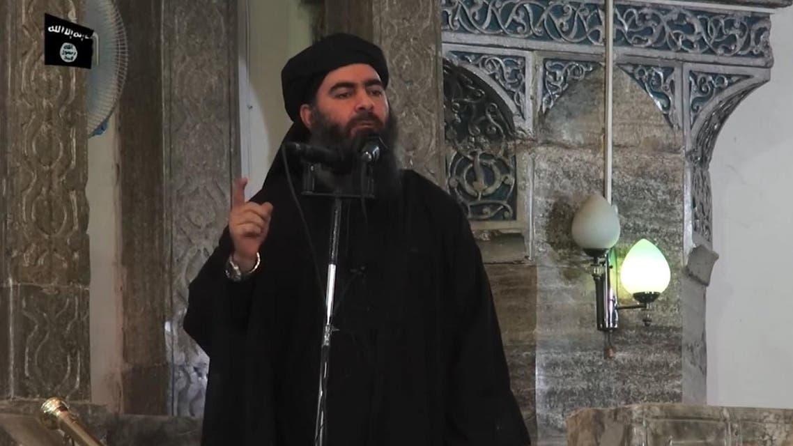 ISIS leader Abu Bakr al-Baghdadi. (AFP)
