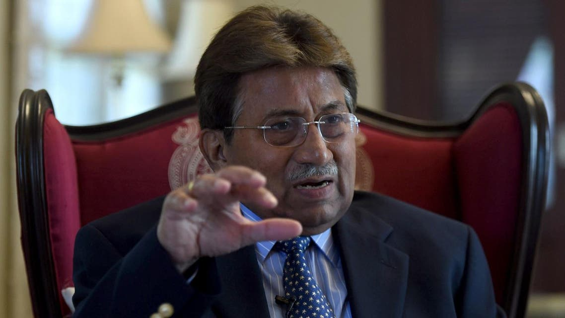 """In an exclusive interview to Al Arabiya English Musharraf said that the US President has """"come in with a clean slate."""" (AFP)"""